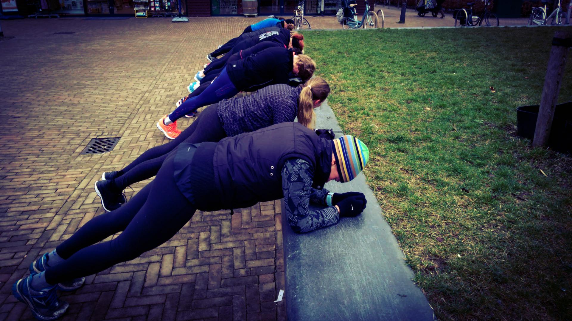 Planken hardlopers