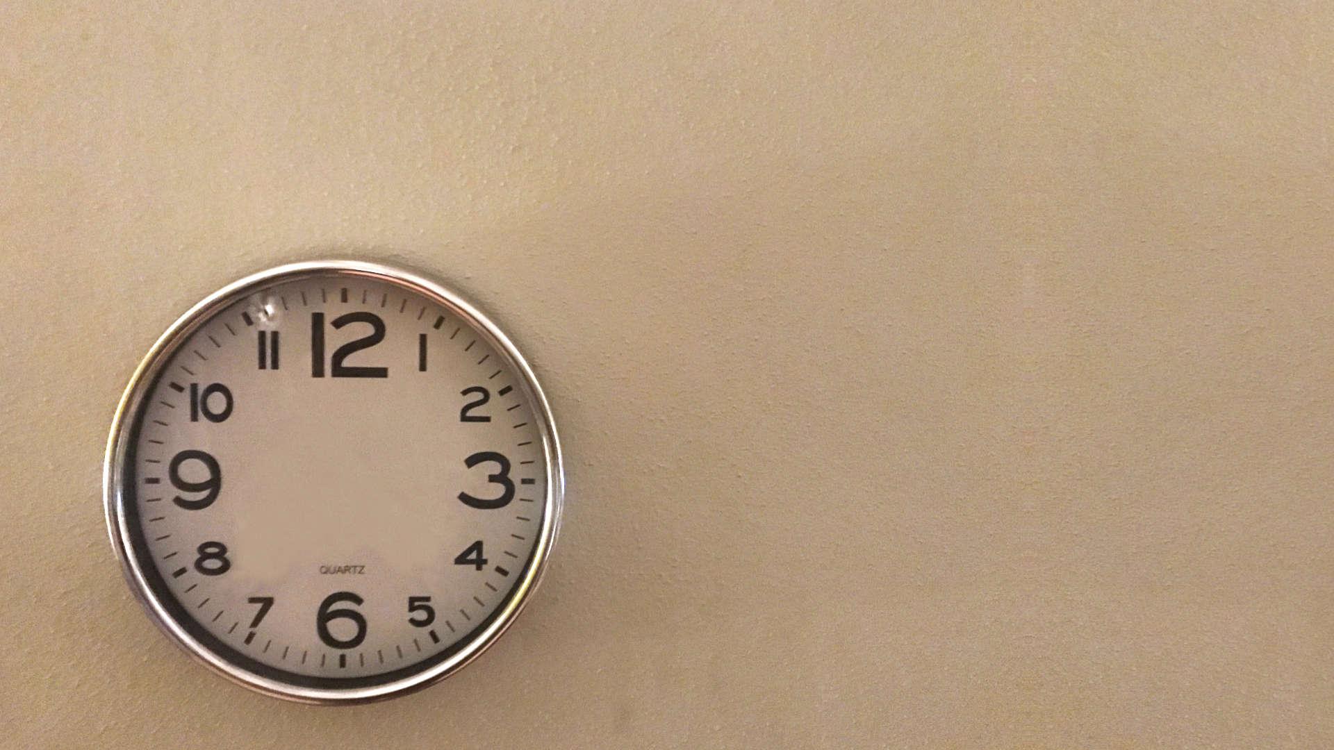 klok wijzerplaat